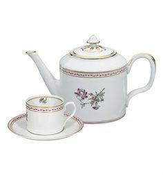 Serviço chá 15 peças índias vista alegre completo