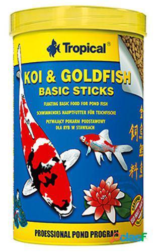 Tropical koi&goldfish basic stick 20 l