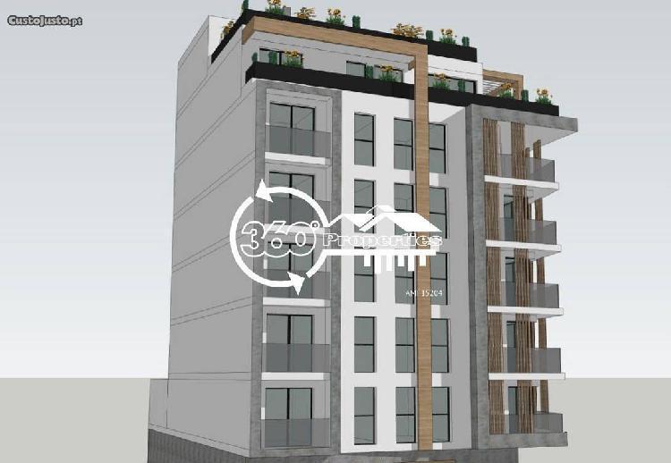 Apartamento novo t2 com 2 wc e garagem em faro