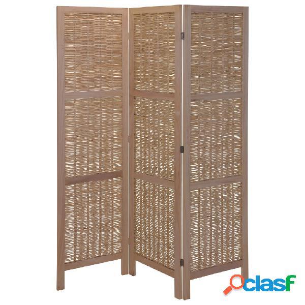 Home&Styling Home&Styling Biombo em madeira e salgueiro castanho-claro