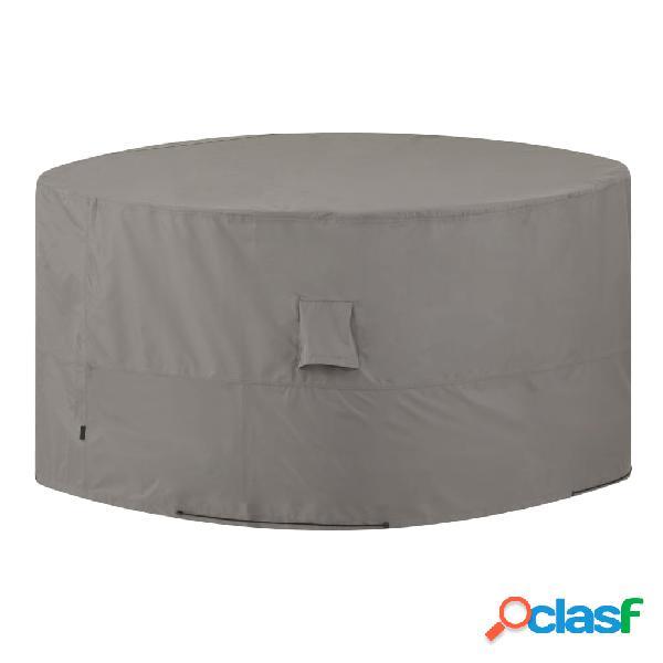 Madison Cobertura para mobiliário de exterior redonda 320 cm cinzento