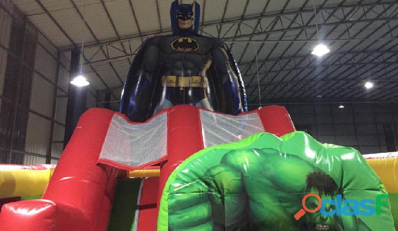 Venda de Insuflável Super Heróis 2