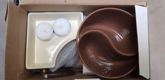 Conjunto cozinha fondue de chocolate10 peças novo na