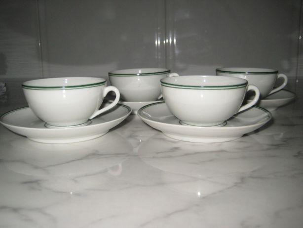 4 chávenas café vista alegre década 1950+oferta