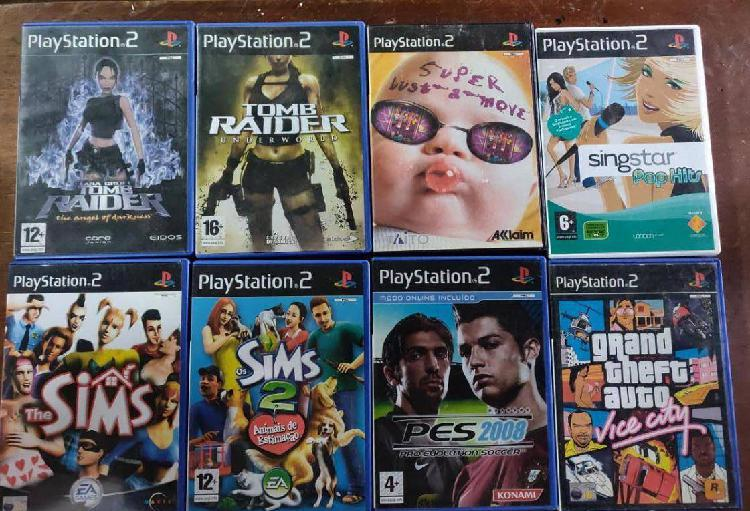 Pack 8 jogos ps2 playstation 2