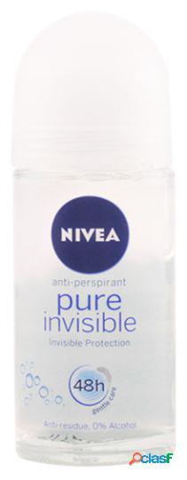 Nivea pure invisible deodorant roll on 50 ml 50 ml
