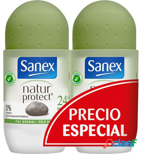Sanex desodorizante natur protect roll on duplo 50 ml