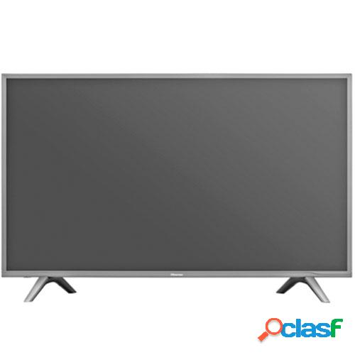 """Hisense h43n5700 televisão para o setor hoteleiro 109,2 cm (43"""") 4k ultra hd 230 cd/m² preto, cinzento smart tv 7 w"""