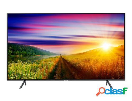 """Samsung led tv 43"""" - tv flat uhd 109,2 cm (43"""") 4k ultra hd smart tv wi-fi preto"""