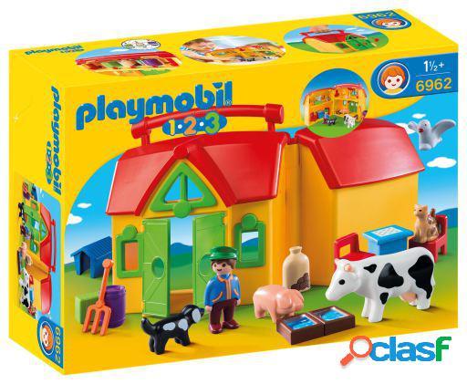 Playmobil 1.2.3 quinta maleta 6962