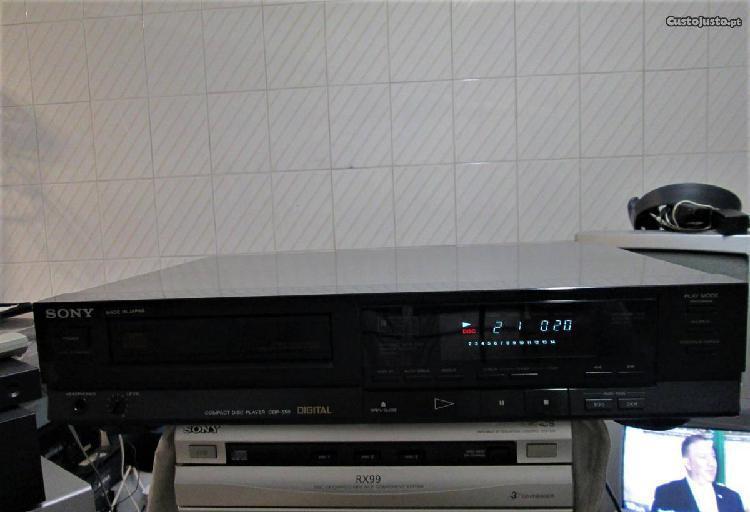 Leitor de cd´s sony cdp-550