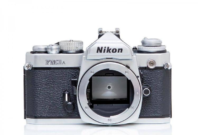 Nikon fm3a silver made in japan!
