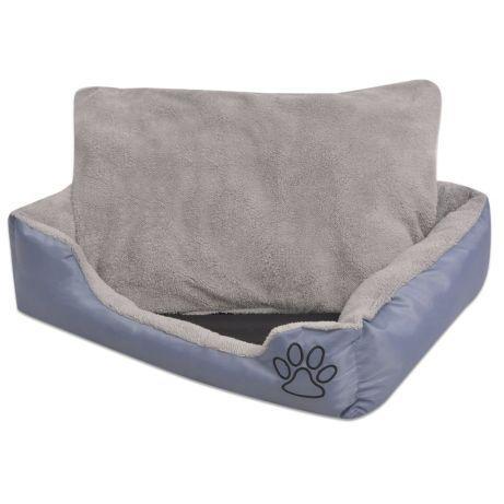 Vidaxl cama para cães com almofada acolchoada tamanho s