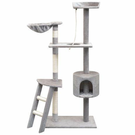Vidaxl árvore para gatos c/ postes arranhadores sisal 150