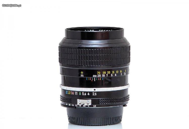 Nikon Nikkor Ai 105mm F/2.5 - c/ Revisão!