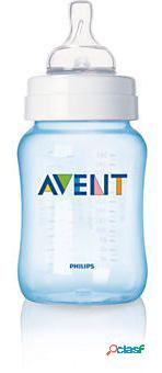 Avent 1 garrafa 260ml azul