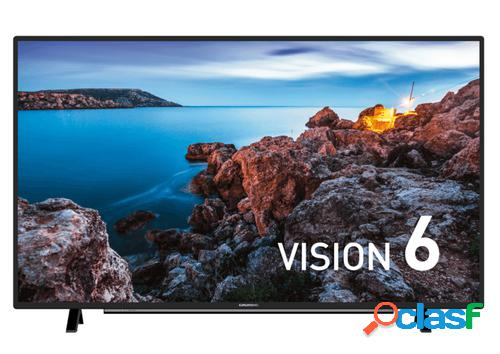 "Grundig 43 vle 6735 bp 109,2 cm (43"") full hd smart tv wi-fi preto"