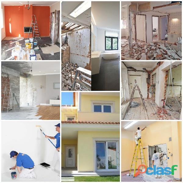 Construção civil, remodelações, pinturas trolha cerâmica tectos falsos