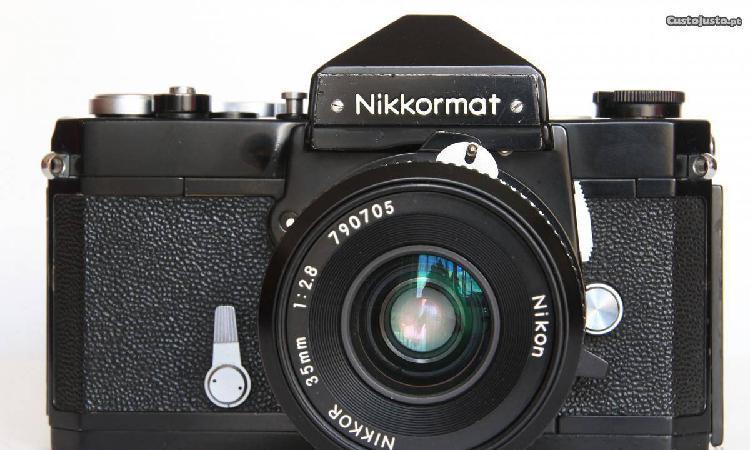 Nikkormat ft + nikkor 35mm 1:2.8