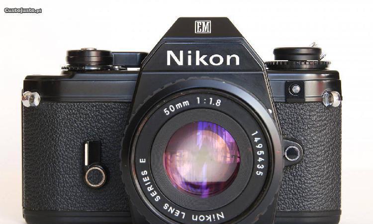 Nikon em + nikon ai-s 50mm 1.8