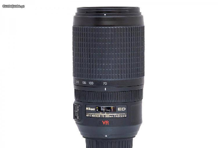 Nikon nikkor af-s 70-300mm g if-ed vr excelente