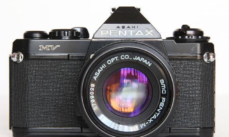 Pentax mv + smc pentax-m 50mm 2.0