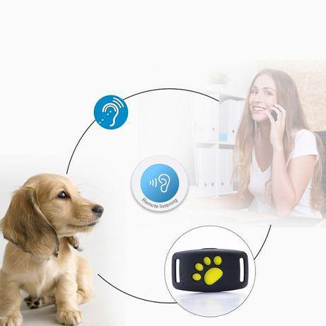 Rastreador gps localizador em tempo real para cão gato