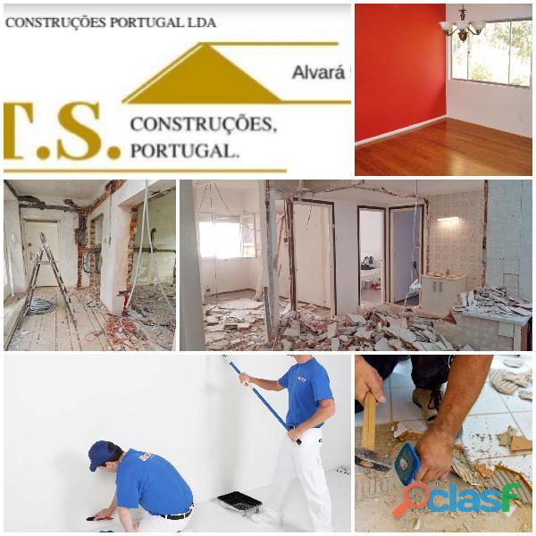 Construção Civil   Trolha Pinturas Tectos Falsos Maia Porto 1