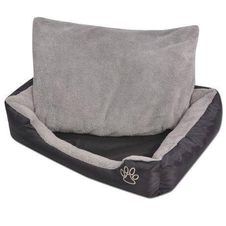 VidaXL Cama para cães com almofada acolchoada tamanho XL