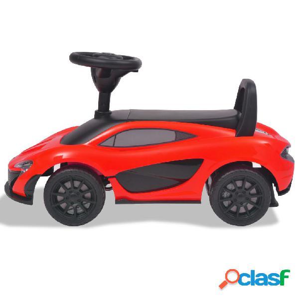 vidaXL Carro de passeio McLaren P1 vermelho 1