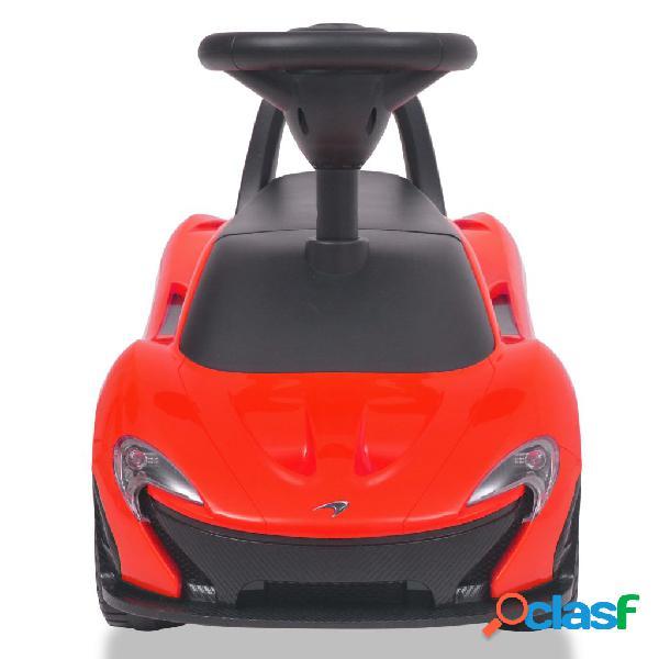 vidaXL Carro de passeio McLaren P1 vermelho 2