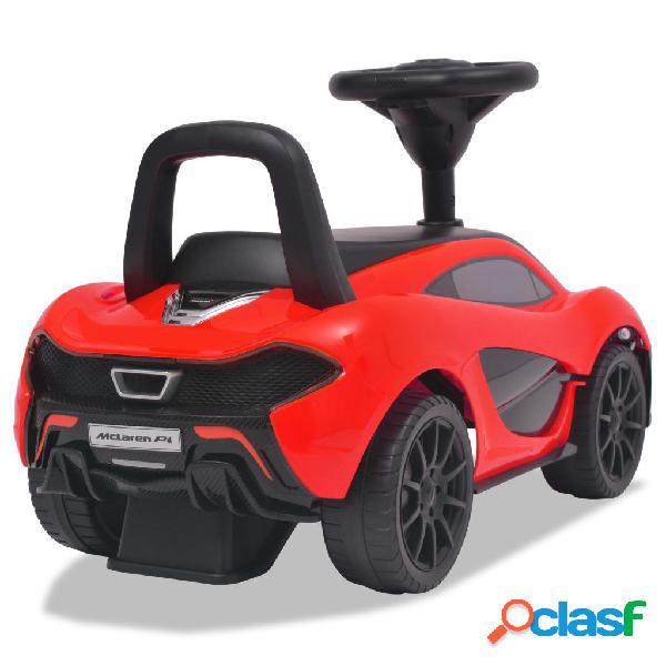 vidaXL Carro de passeio McLaren P1 vermelho 3