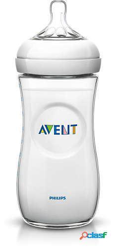 Avent frasco de leite natural 330 ml azul