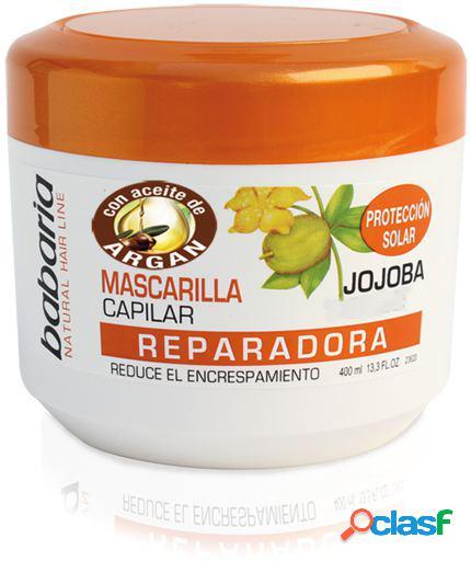 Babaria frasco de máscara capilar jojoba 400 ml 400 ml
