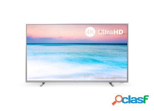 "Philips 43pus6554/12 tv 109,2 cm (43"") 4k ultra hd smart tv wi-fi prateado"