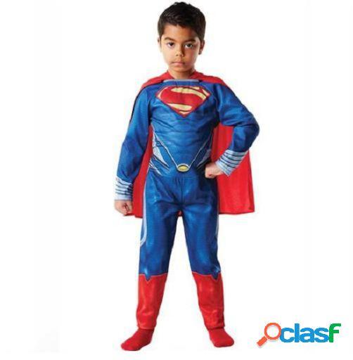 Homem traje super-homem de aço l rubie's