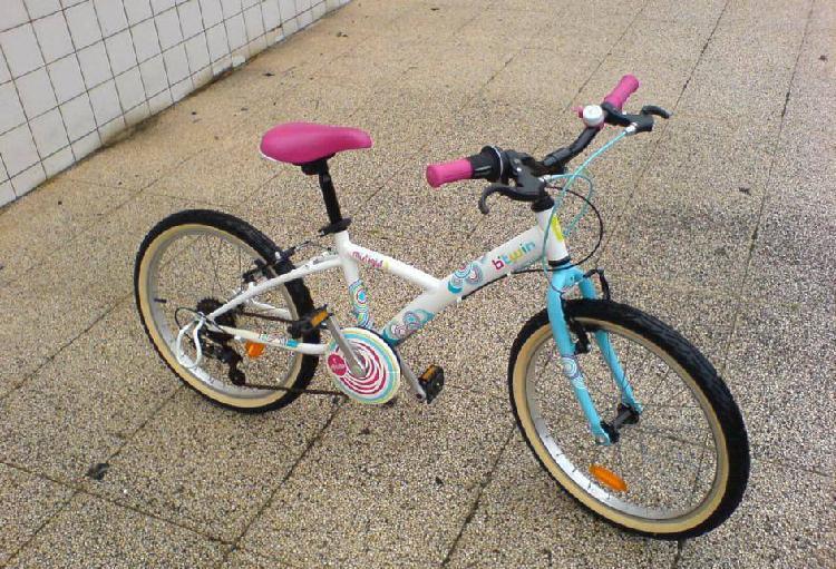 Bicicleta de criança menina