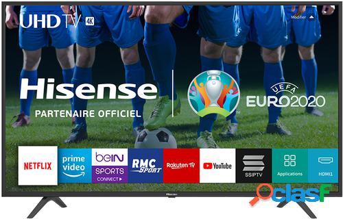"Hisense h43b7100 tv 109,2 cm (43"") 4k ultra hd smart tv wi-fi preto"