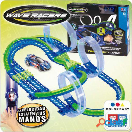 Colorbaby triple wave racers track skyloop