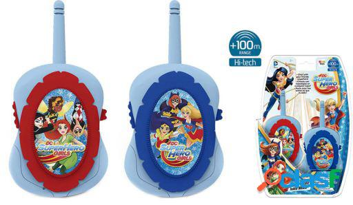 Imc toys walkie talkie dc super hero girls