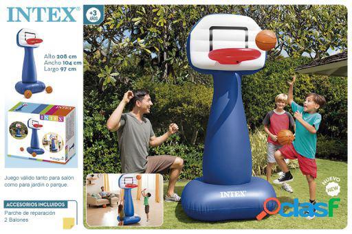 Intex Canasta De Basket Hinchable