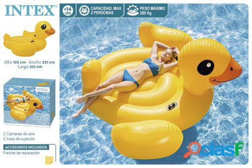 Intex Pato Amarillo Flotante Gigante