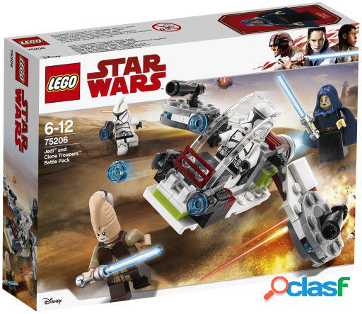 Lego Jedi And Clone Troopers Battle Pack Star Wars 75206
