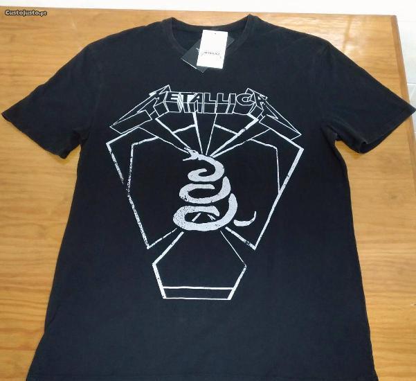 T-shirts metallica