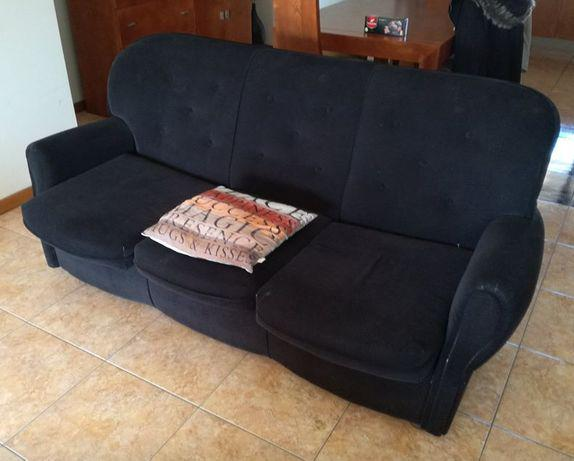Urgenteconjunto sofá cama e sofá individual