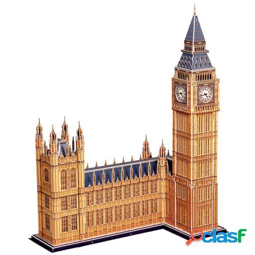 Import 3d puzzle big ben