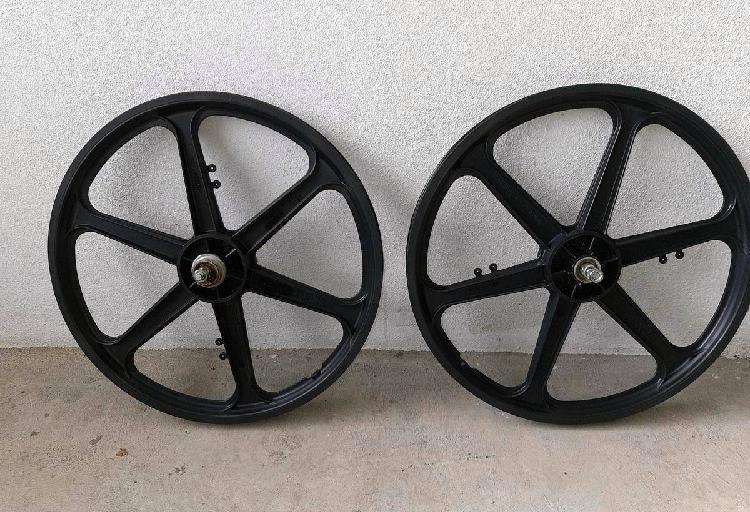 Rodas bmx roda 20' pretas