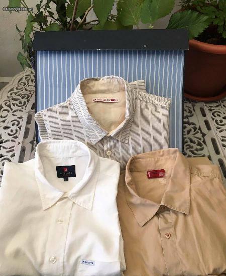 Camisas de homem de marca, tamanho xl