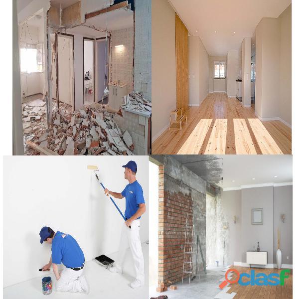 Remodelações Pinturas, Trolha, Pedreiro, Tectos Falsos, Telhados painel Sandwich 2