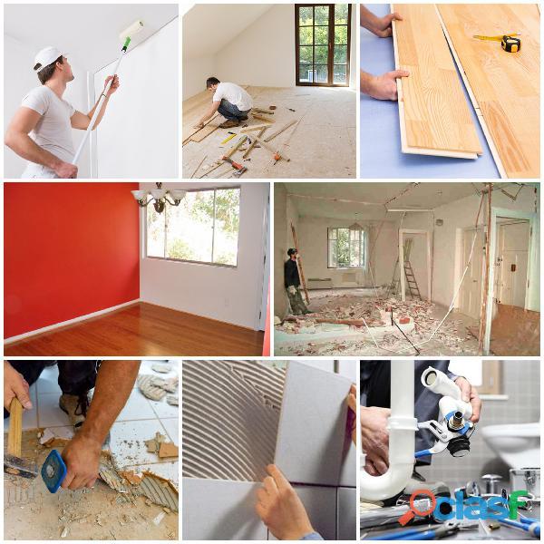 Remodelações Pinturas, Trolha, Pedreiro, Tectos Falsos, Telhados painel Sandwich 5